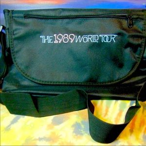 "Taylor Swift ""The 1989 World Tour"" crossbody bag"